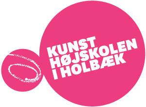 Kunsthojskoleniholbaek logo